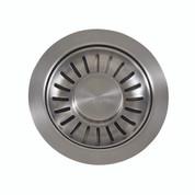 """Franke 906SN  Universal 3 1/2"""" Pop-up Sink Strainer Basket Lever, Satin Nickel"""