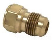 46-4-4 1/4X1/4 ODXF FLARE ADAPTER BRASS CRAFT MFG. COMPANY 6310 6310