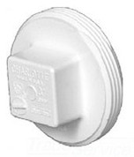 106 6in IPS PLUG PVC DWV CHARLOTTE PIPE & FOUNDRY COMPANY 9046 9046