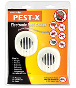 PEST-X ELECTRONIC PLUG-IN PEST CHASER (2-PACK) 3569125 3569125