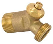 "BRASS WATER HEATER DRAIN VALVE 1"" INSULATION MODEL THICK 481290"