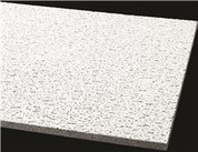 ARMSTRONG® ACOUSTICAL CEILING PANEL 756A FISSURED SQUARE LAY IN, 24X24X5/8 IN., 16 PER CASE Armstrong World Industries BPGR756A 296368