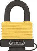 ABUS 70/45 SERIES SOLID BRASS WEATHERIZED PADLOCK, 1-3/4 IN., KEYED DIFFERENT 2473970 2473970