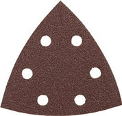 BOSCH DETAIL SANDER ABRASIVE TRIANGLES FOR WOOD, 120 GRIT, 3-3/4 IN., 5 PACK Bosch Tools SDTR120 2466406