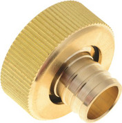 "BRASS ADAPTER - 1"" SWIVEL X 3/4"" BARB 134941"