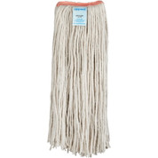 APPEAL® #24 CUT-END COTTON MOP HEAD WITH 1-INCH HEADBAND, WHITE 157176