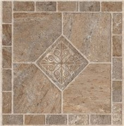 ARMSTRONG PEEL N' STICK TILE 12 IN. X 12 IN. MULTICOLOR BRONZE 1.14MM (0.045 IN.) / 45 SQ. FT. PER CASE 3564976 3564976