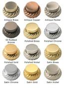 Allied Brass 8 Table Mirror 2X Mag Satin Nickel