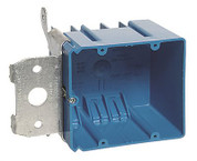 2 GANG ADJUSTABLE ELECTRIC BOX WITH SIDE PORT 669009