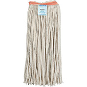 "APPEAL 157175  #20 Cut-End Cotton Mop Head with 1"" Headband, White, 12 Mop Headsper Case -"