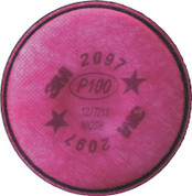 3M 2097 PARTICULATE FILTER 9100 WITH NUISANCE LEVEL ORGANIC VAPOR RELIEF,  2 PER BOX 295834