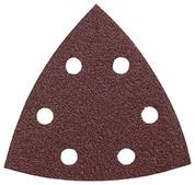 BOSCH DETAIL SANDER ABRASIVE TRIANGLES FOR WOOD, 60 GRIT, 3-1/2 IN., 5 PACK 2466405 2466405