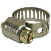 BREEZE HOSE CLAMP, STAINLESS STEEL, 11/16 IN. TO 1-1/4 IN., PACK OF 10 2488213