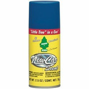 Little Trees In a Can Car Freshener, New Car Scent, 2.5 oz Spray Can Car Freshener Corp CRFUAL-09089 CRFUAL-09089