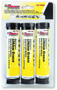 Lithium Grease, Multi-Purpose, 3 oz Cartridges, for Mini Grease Guns, 3 per Pack Airgas Safety LMXLX-1901 LMXLX-1901