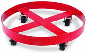 "Band Dolly, 24"" Diameter, for 55 Gallon or 400 lb Containers, with Four Casters Airgas Safety LMXLX-1722 LMXLX-1722"