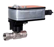 """1"""" NPT. 2 WAY VALVE ASSEMBLY WITH 24V MUDULATING S BELIMO 322520 322520"""