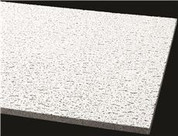 ARMSTRONG® ACOUSTICAL CEILING PANEL 755B FISSURED SQUARE LAY IN, 24X48X5/8 IN., 12 PER CASE Armstrong World Industries BPGR755B 296367
