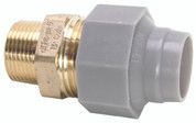 "Zurn 101938 GIDDS- Pex Qicktite Brass Male Adapter, 3/4"" x 3/4"" Mpt, Lead Free"