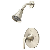 Pfister LG897WRK  Weller 1-Handle Shower Faucet Trim Kit in Tuscan Bronze (Valve Not Included)