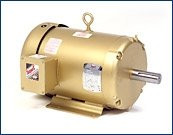 Baldor Motor EM3611T            3hp 230-460v 3ph 1800rpm 182T EM3611T