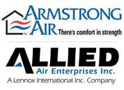 ARMSTRONG AIR 42W47 101564-03 MOTOR 3/4HP Var Speed 240/60/1