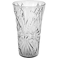"""Viz Floral Supply 10"""" vase clear"""