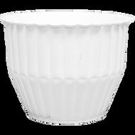 "Viz Flower Pot Vase 6""x4-3/4"""