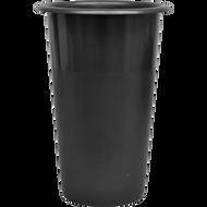 """Viz Floral Stock Vase 16"""" Black"""