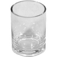 Viz Floral 3x4 glass cylinder vase