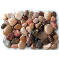 Viz Floral Mixed River Rocks 1cm - 2cm