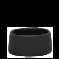 "Ceramic Vase 6"" x 3"" x 3""Black"