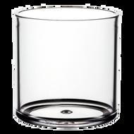 "Plastic Cylinder Vase 5""x 5"" Clear (4 Per Case)"
