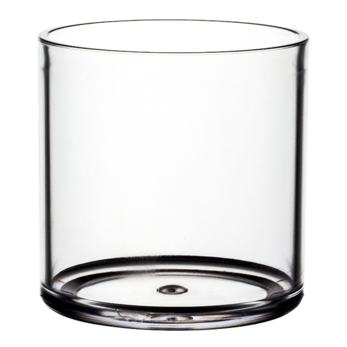 """All Floral Plastic Cylinder 5"""" Clear"""