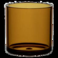 "Plastic Cylinder Vase 4""x 4"" Colors  (12 Per Case)-More Colors Available"
