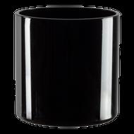 """All Floral Plastic Cylinder 5"""" Black"""
