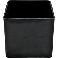 Black Glass Cube 6x6x6 (6 per case)