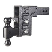 "GH-623 Drop or Rise 6"", Includes 2.5"" 3-slot Hitch, dual Ball, pintle 21,000 LBS"