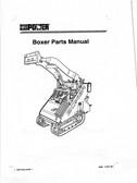 Boxer (compact Power) TD427 Parts Manual