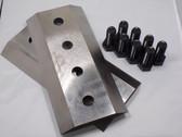 """29834-800 2 KNIFE SET W/BOLTS, 10 1/2"""" x 5"""" x 5/8"""""""