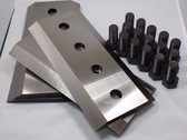 """29834-794 4 KNIFE SET W/BOLTS, 10 1/2"""" x 5"""" x 1/2"""""""