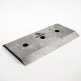 39233-151 KNIFE, DOUBLE EDGE 7-1/4 x 4 x 3/8, 3 HOLE