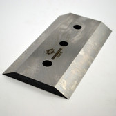 "39233-685 7-1/4"" x 4 x 1/2"" DE KNIFE, 1/2"" HOLES"