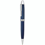 Conklin Herringbone Blue Ball Pen