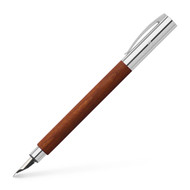 Ambition Pearwood and Chrome Trim Fountain Pen