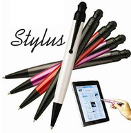 Ipad Pen - White (Ball Pen one end Ipad point the other)
