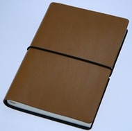 Ciak Notebook - Brown (15cm X 21cm - Blank Pages)
