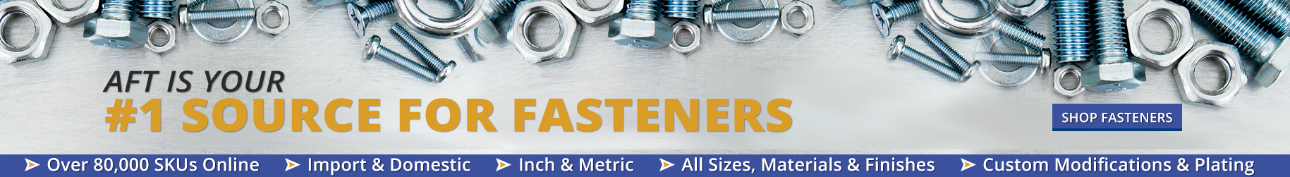 Fastener Supply | Custom Fasteners | Industrial Fasteners