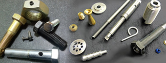 Drilled holes, special thread lengths, custom fasteners and parts.