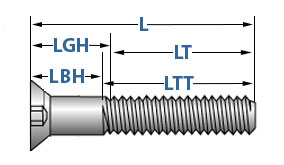 5//16 unc threded bolts x 2,3//4  inch long x army qty 8